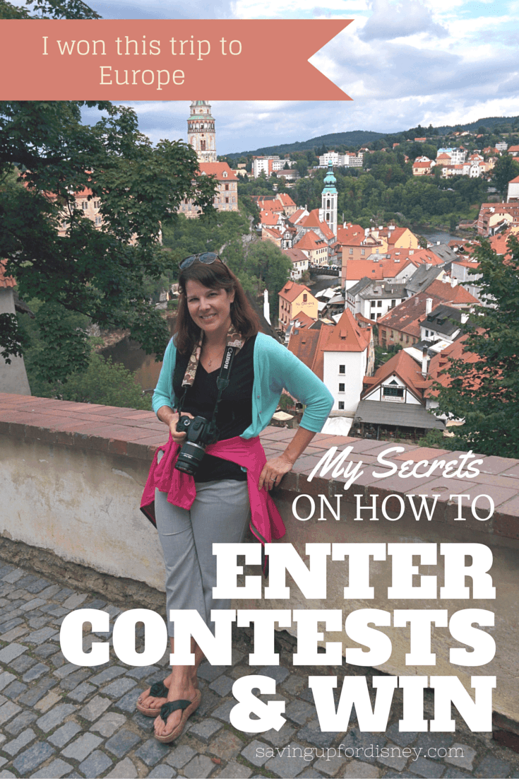 My Secrets on How-to Enter Contests   and Win!