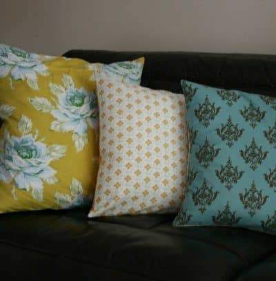 DIY Cheap and Easy Pillow Covers to Brighten Your Home!