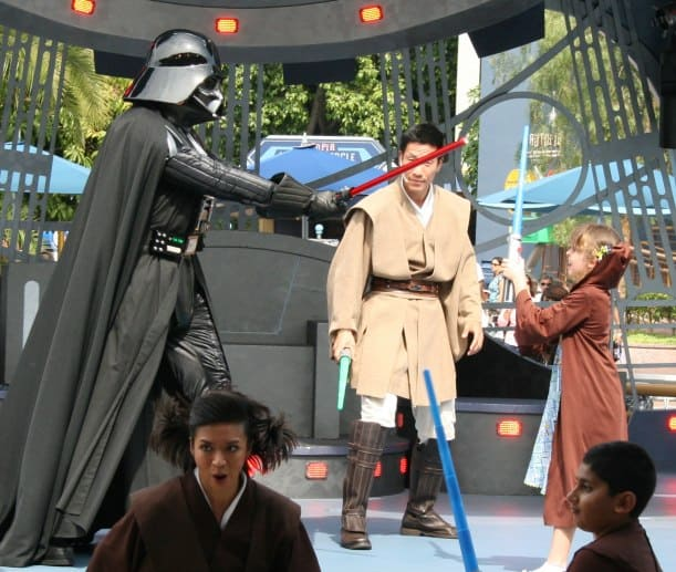 Battle with Darth Vadar! {Saving up for Disney}