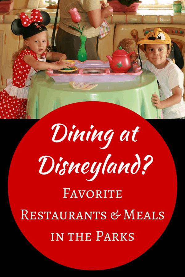 Dining at Disneyland? Favorite Restaurants & Meals in the Disneyland Parks
