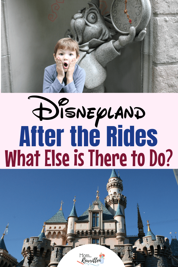 Wondering what else there is to do at Disneyland parks are you've done all the rides and big shows? Check out this list of fantastic ideas that will add lots of magic to your California Disney experience! (most of them are totally free!) These tips will fill your family vacation with Disney magic from rope drop to closing! #Disneyland #DisneyTips | Family Travel | Travel with Kids | Disney Tips | Disney Travel | Disneyland Vacation