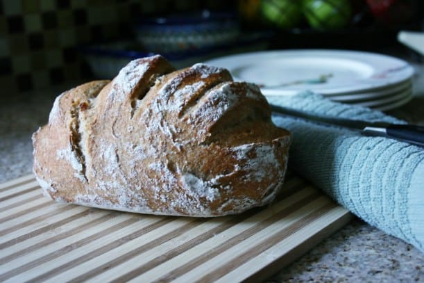 Eat at Home and Save - DIY Artisan Bread. Make it fast in just five minutes a day!