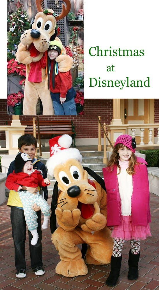 Plutu has several winter wear outfits at Disneyland {Saving Up for Disney}