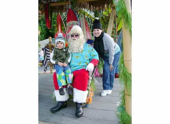 Meeting Santa at Disneyland {Saving up for Disney}