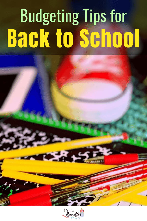 Budgeting for back to school? Check out these practical tips for assessing what you really need to buy for school with advice on using what you already have. #BacktoSchool #budget #Kids #School #Fall #Budget #SavingMoney