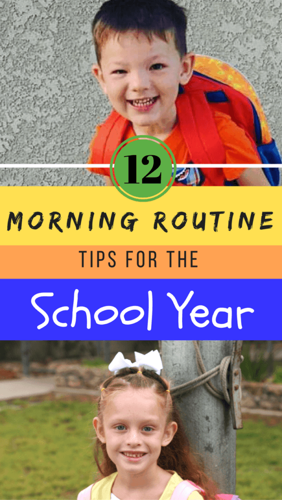 No more stressful or rushed mornings! These 12 tips for streamlining the morning routine are easy and practical.