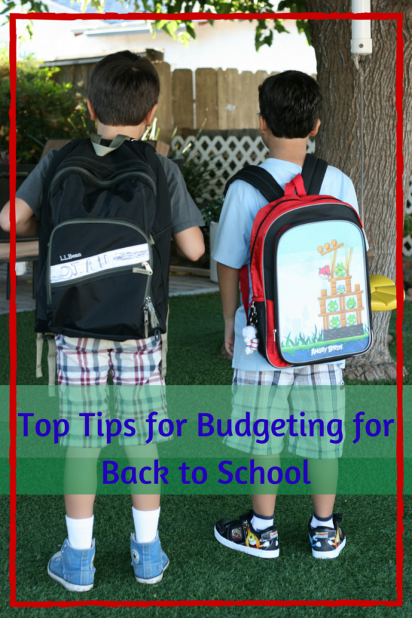 Dozens of money saving tips! Advice for Budgeting for Back to School