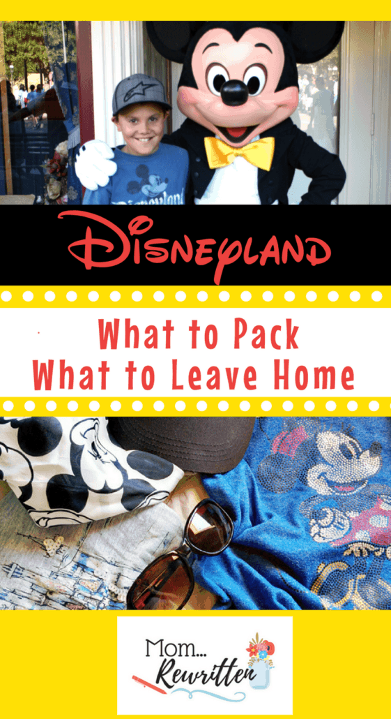 20 things to bring with you on a Disneyland vacation (and the banned items you should leave at home!) #Disneyland #Packing