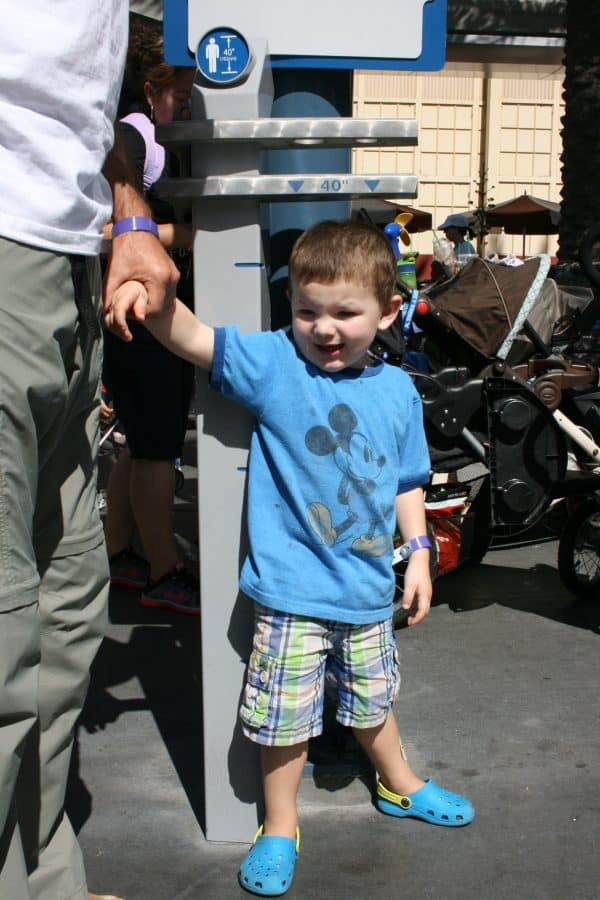 All About Disneyland Height Requirements