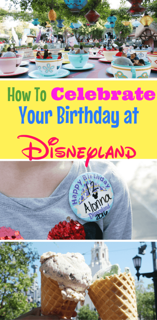 Celebrating a birthday at Disneyland is extra magical! Read about freebies and splurges to put your birthday over the top!