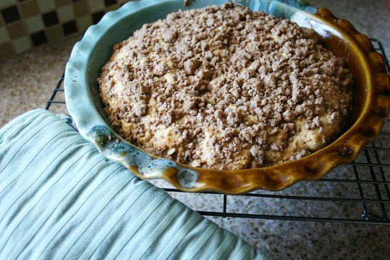DIY Bisquick - Double Streusel Coffee Cake {Saving Up for Disney}