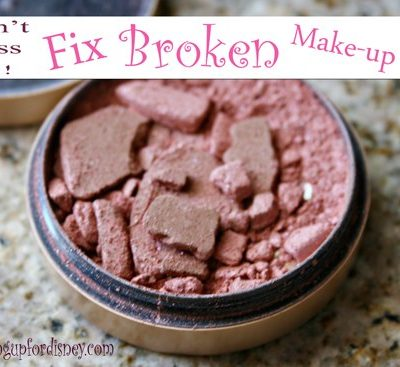 Fix it, don't toss it!! – How to Fix Broken Make-up