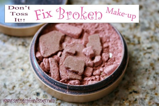 Don't toss it!! Fix your broken make-up {Tutorial}