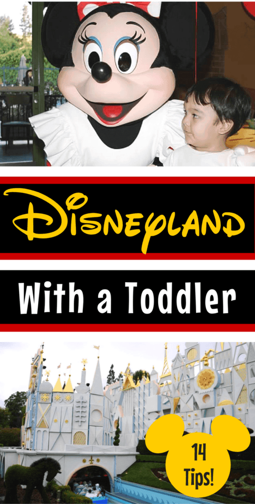 Considering Disneyland with a toddler? Read these 14 practical tips that will make your Disney vacation so much happier!