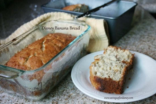 Disney Banana Bread Recipe - this is absolute heaven!