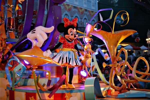 Mickey's Soundsational Parade at Disneyland