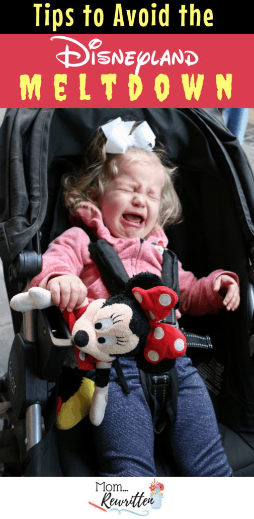 Want to avoid the Disneyland meltdown on your vacation? Temper tantrums at Disney can be avoided by following these tested tips with advice for a happier kids. Includes a list of quiet places to rest inside the Parks and tips for kids with special needs and toddlers. #Disney #Disneyland