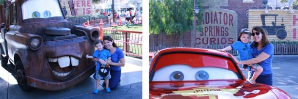 What to do at Cars Land at Disney California Adventure Park