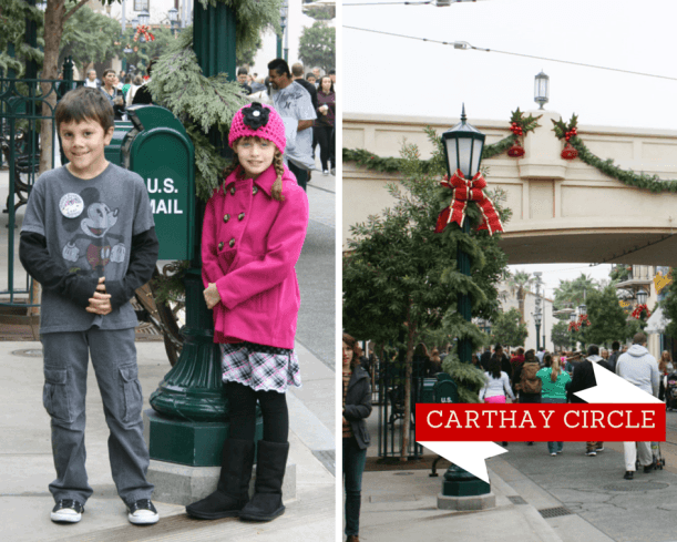 Christmas at Disney California Adventure Park