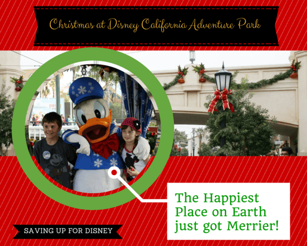 What is Christmas at Disney California Adventure Park like?