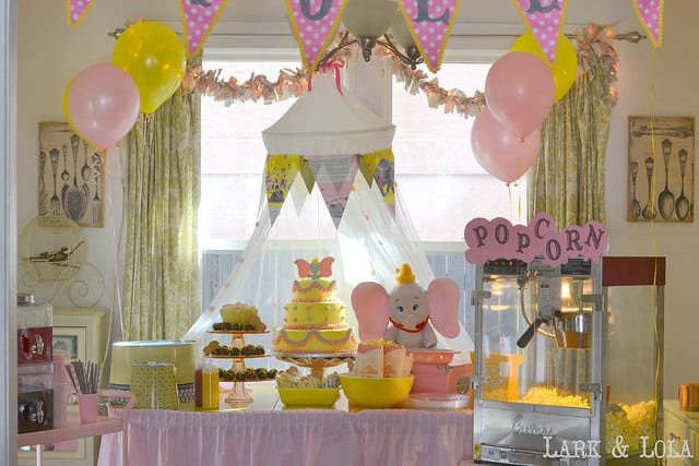 Disneyside Baby Shower Decorations