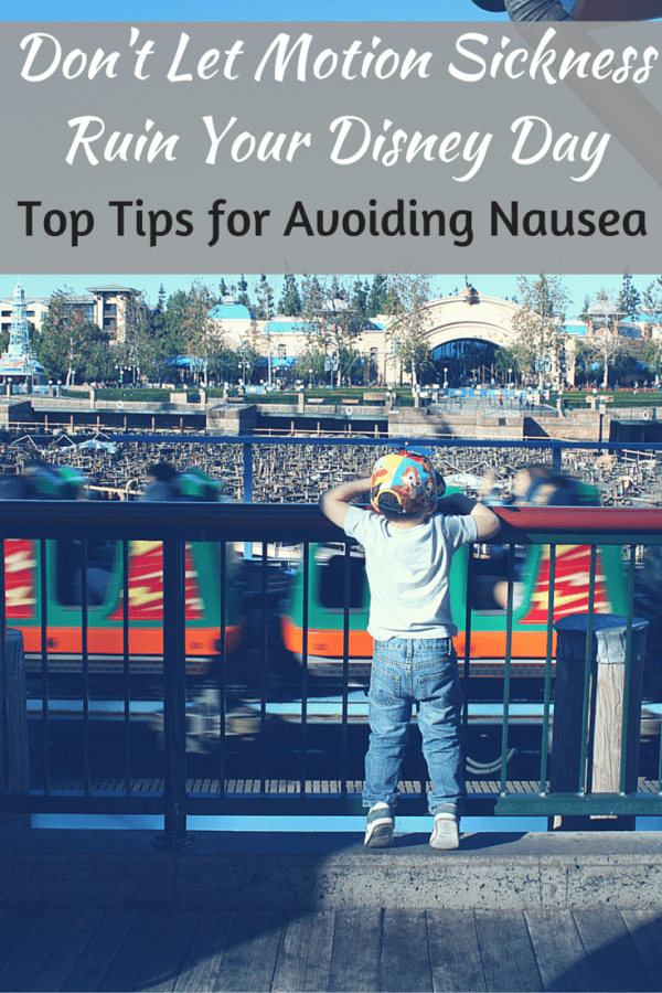 Worried about motion sickness at Disney? Check out these top tips for avoiding nausea on your Disney vacation.