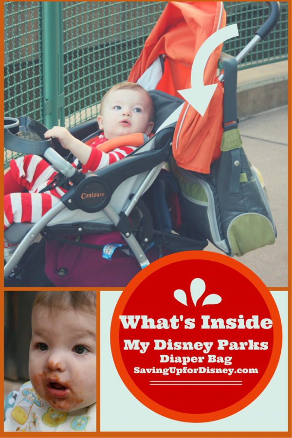 What's in my Disney Parks Diaper Bag?