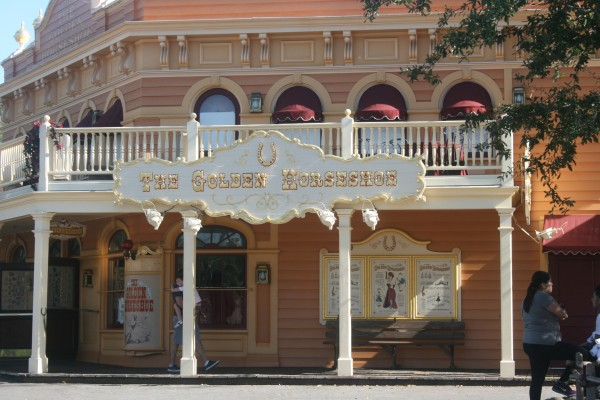 Golden Horseshoe at Disneyland