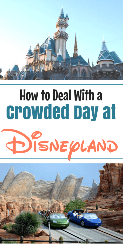 Considering a Disneyland vacation but worried about crowds? Here are the tips you need to know even if the parks at Disneyland are crowded! #Disneyland