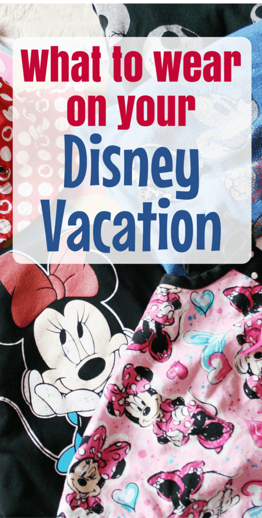 What should you wear on your Disney trip? These comfortable but cute clothes are perfect for both Disneyland and Walt Disney World vacations!