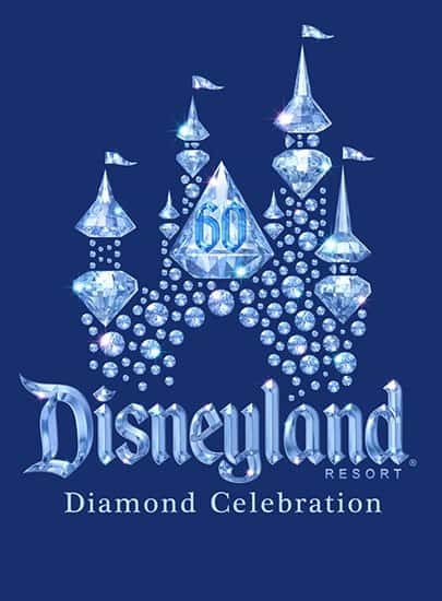 Disneyland's 60th - Dazzling Diamond Celebration Decor
