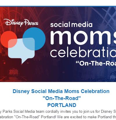 Disney Social Media Moms Celebration – On-the-Road in Portland