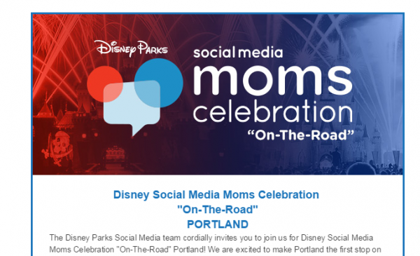 Disney Social Media Moms Celebration - On-the-Road in Portland