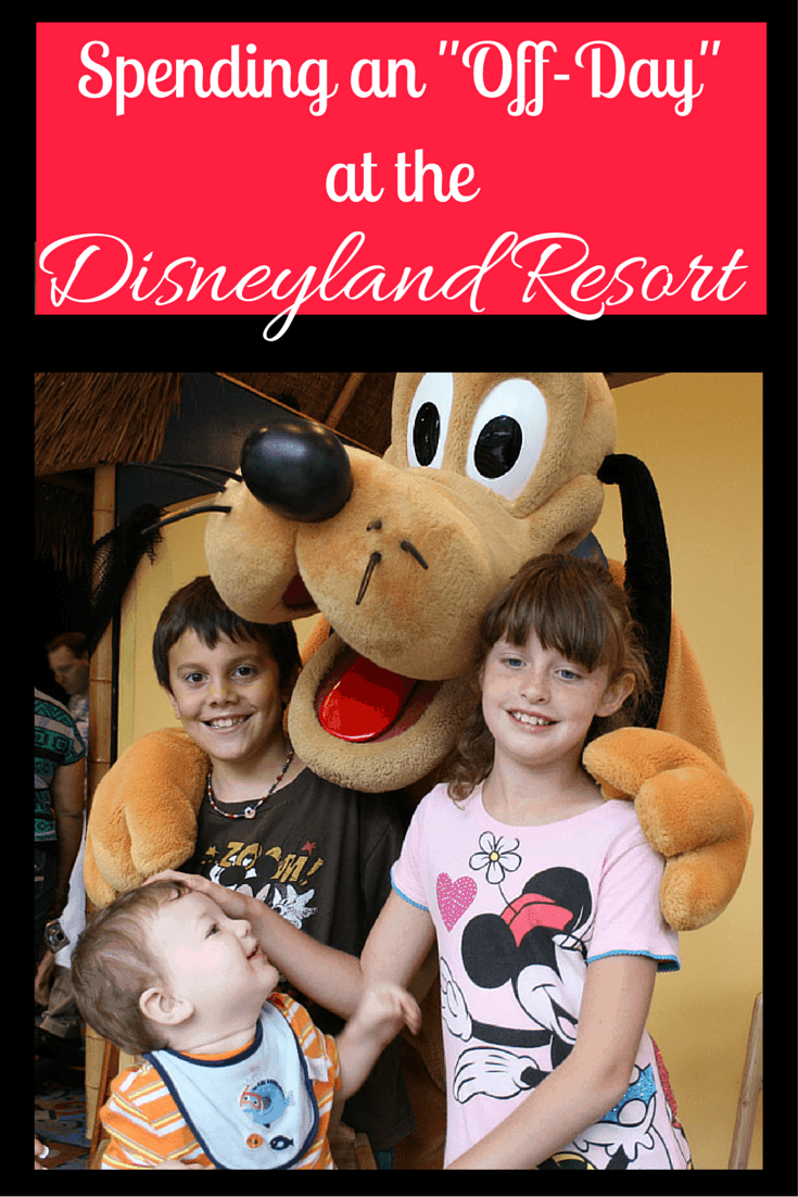 "How do you spend an ""off-day"" at the Disneyland Resort? Here are a few fun ideas that won't take you off the property!"