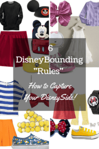 """6 DisneyBounding """"Rules"""" - How to Capture Your DisneySide!"""