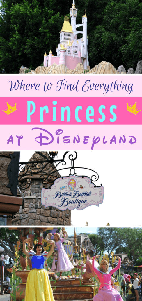 Is your little princess Disney princess obsessed? Find out what to see and experience with the Disney princesses at the Disneyland resort in California. Read more for the inside tips on character meet n' greets, what shows to see and where to find your favorites. #Disneyland