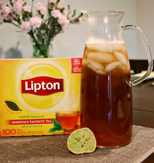 Refresh Dinnertime with Lipton Iced Tea #StockUpOnLipton #Albertsons #ad