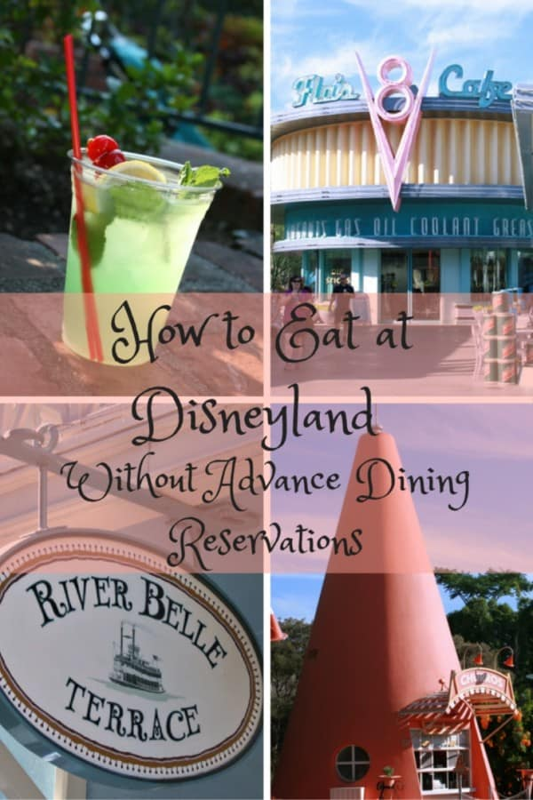 How to Eat at Disneyland Without Advance Dining Reservations
