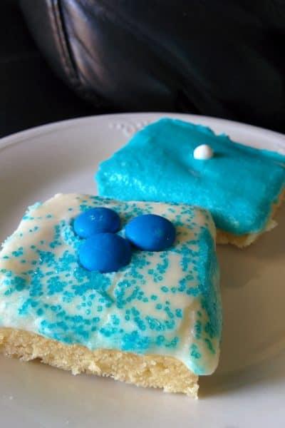 Disneyland 60th Anniversary Sugar Cookie Bars