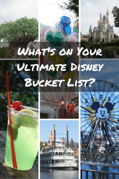 What's on Your Ultimate Disney Bucket List?