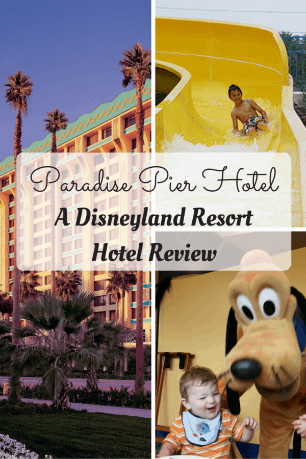 Disneyland Resort Hotel Review - Paradise Pier Hotel