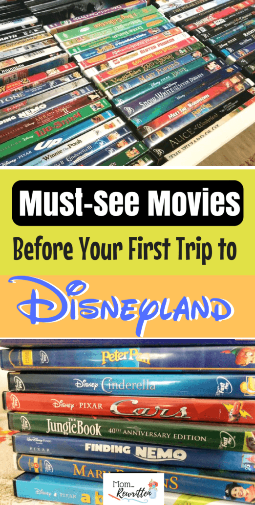 Getting your family familiar with characters before your first Disneyland trip is easy - just watch these must-see Disney movies! Find out what movies are recommended watching as well as what rides, shows and attractions feature the characters in the Disney films.