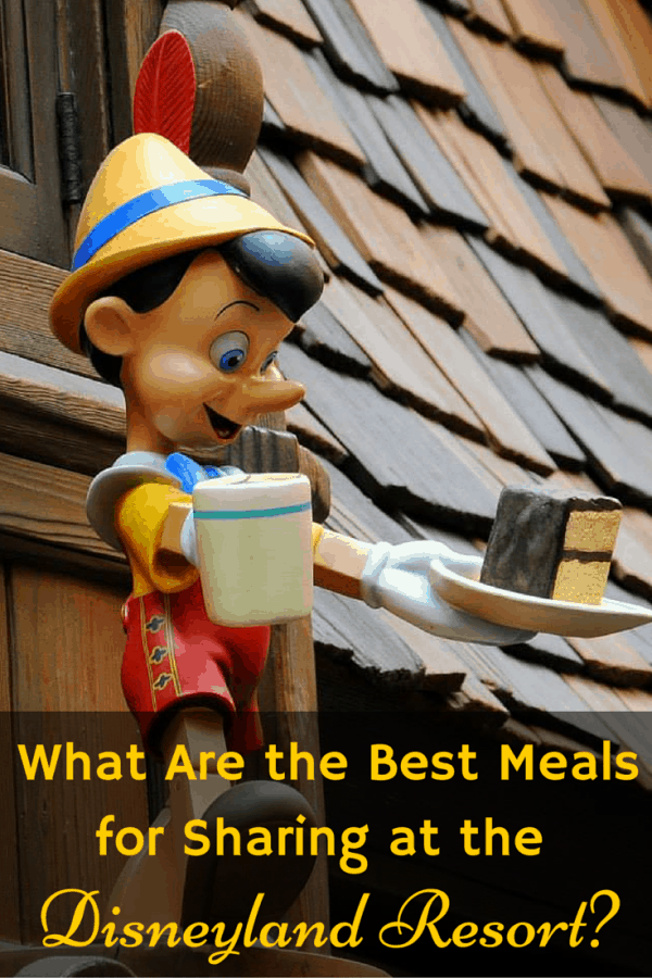 What Are the Best Meals for Sharing at Disneyland Resort?