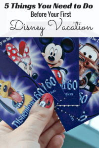 These are the 5 Things You Need to Do Before Your First Disney Vacation! Don't be caught unprepared before your first Disneyland or Walt Disney World trip!