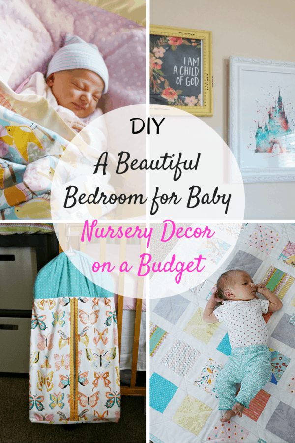 A Beautiful Diy Bedroom For Baby Nursery Decor On Budget