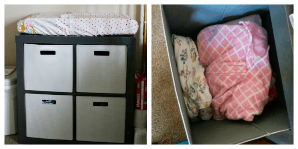 Organizing a Shared Bedroom - A Beautiful Space for a Big Girl & Baby
