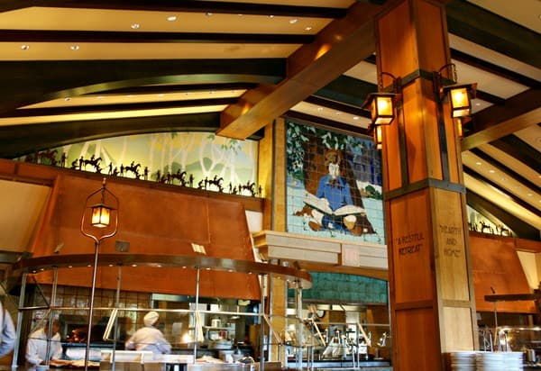 Storyteller's Cafe at Disney Grand Californian Hotel & Spa