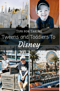 PIN-Tweens and Toddlers at Disney