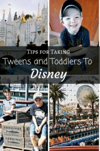 PIN-Tweens and Toddlers at Disney