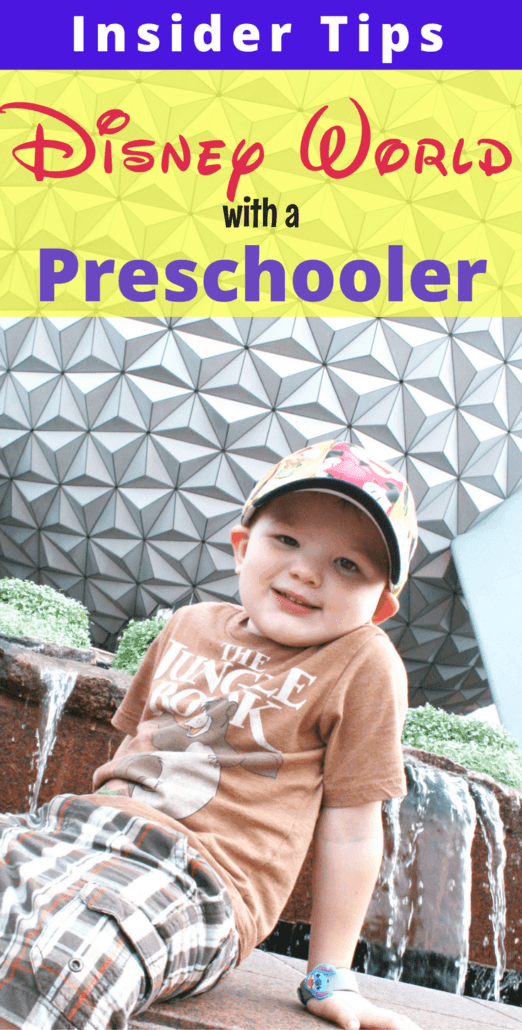 Visiting Walt Disney World with a preschooler? These are the insider tips for taking preschoolers to Disney!